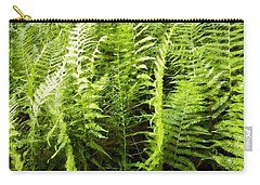 Ferns - Foresta Verde - The Forest Floor Carry-all Pouch