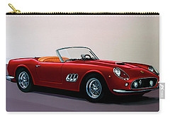 Ferrari 250 Gt California Spyder 1957 Painting Carry-all Pouch