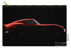 Ferrari 250 Gto - Side View Carry-all Pouch