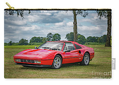 Carry-all Pouch featuring the photograph Ferrari 328 Gts by Adrian Evans