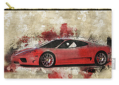 Carry-all Pouch featuring the photograph Ferrari 430  by Joel Witmeyer