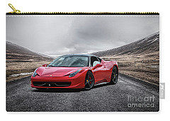 Ferrari 458 Carry-all Pouch by Stephan Grixti