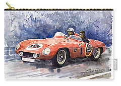 1953-1955 Ferrari 500 Mondial 1000 Miglia Carry-all Pouch