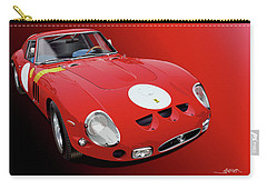 Ferrari Gto Illustration Carry-all Pouch