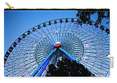 Ferris Wheel At Dusk, The State Fair Of Texas Carry-all Pouch