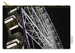 Ferris Wheel At Night 16x20 Carry-all Pouch