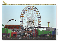 Ferris Wheel At Santa Monica Pier Carry-all Pouch