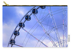 Ferris Wheel Carry-all Pouch by Cathy Donohoue