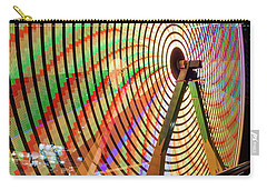 Ferris Wheel  Closeup Night Long Exposure Carry-all Pouch
