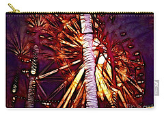 Carry-all Pouch featuring the photograph Ferris Wheel  by Mariola Bitner