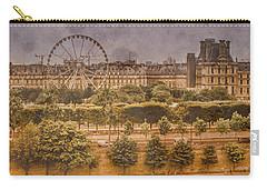 Paris, France - Ferris Wheel Carry-all Pouch