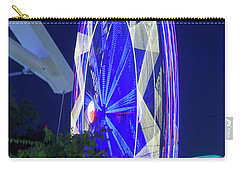 Ferris Wheel, Night Motion, The State Fair Of Texas Carry-all Pouch