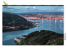 Ferrol's Estuary Panorama From La Bailadora Galicia Spain Carry-all Pouch