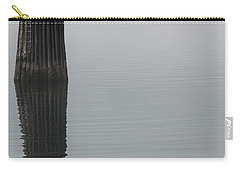 Ferry Hiding In The Fog Carry-all Pouch by Tony Locke