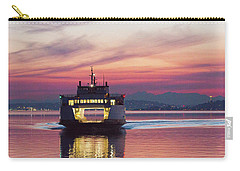Ferry Issaquah Docking At Dawn Carry-all Pouch by E Faithe Lester