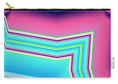 Carry-all Pouch featuring the digital art Fertile by Ron Bissett