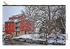 Fertile Winter Carry-all Pouch by Bonfire Photography