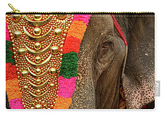 Festival Elephant Carry-all Pouch