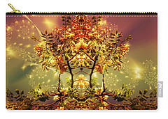Festive Fractal Carry-all Pouch