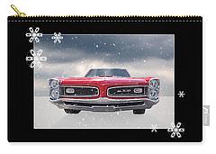 Festive Pontiac Gto Carry-all Pouch