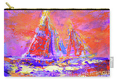 Festive Sailboats 11-28-16 Carry-all Pouch