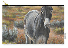 Carry-all Pouch featuring the painting Festus by Kim Lockman