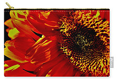 Fickle Sunflower Carry-all Pouch