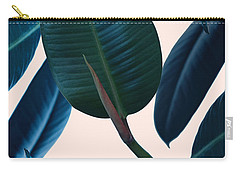 Ficus Elastica 2 Carry-all Pouch by Mark Ashkenazi