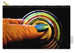 Carry-all Pouch featuring the photograph Fidgets by Denise Fulmer