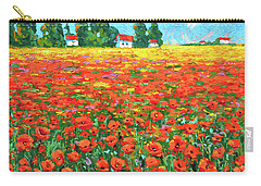 Field And Poppies Carry-all Pouch