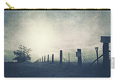 Field Beyond The Fence Carry-all Pouch