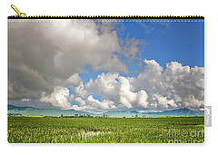 Carry-all Pouch featuring the photograph Field by Charuhas Images