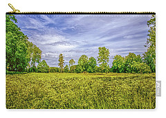 Carry-all Pouch featuring the photograph Field Gaeddeholm. by Leif Sohlman