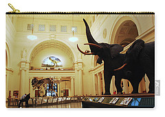 Carry-all Pouch featuring the photograph Field Museum by James Kirkikis
