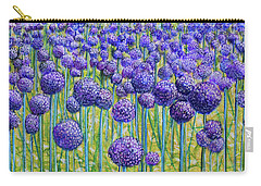 Field Of Allium Carry-all Pouch