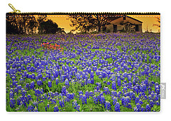 Field Of Blues Carry-all Pouch
