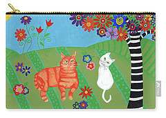 Field Of Cats And Dreams Carry-all Pouch