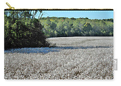 Field Of Cotton Carry-all Pouch