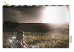 Carry-all Pouch featuring the photograph Field Of Dreams by Jorgo Photography - Wall Art Gallery
