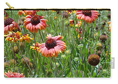 Field Of Flower Eyes Carry-all Pouch