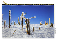 Field Of Frosty Straws Carry-all Pouch