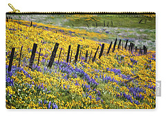 Field Of Gold And Purple Carry-all Pouch