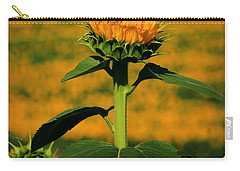 Carry-all Pouch featuring the photograph Field Of Gold by Chris Berry