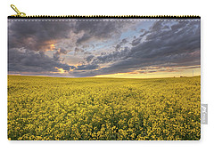 Field Of Gold Carry-all Pouch by Dan Jurak