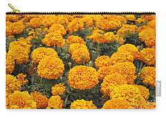 Field Of Orange Marigolds Carry-all Pouch
