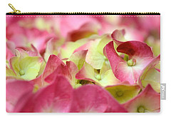 Carry-all Pouch featuring the photograph Field Of Petals by Corinne Rhode