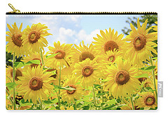 Field Of Sunflower Sunshine Carry-all Pouch
