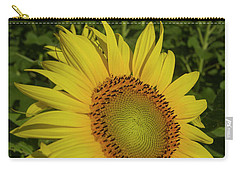 Field Of Sunflowers Carry-all Pouch by Garry McMichael