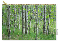 Field Of Teens Carry-all Pouch by Donna Blackhall