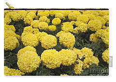 Field Of Yellow Marigolds Carry-all Pouch